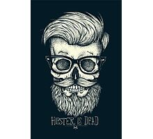 Hipster is Dead II Photographic Print
