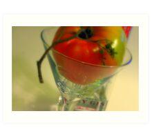 Gin Tomato Art Print