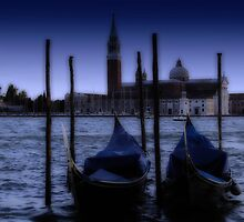Two Gondolas by Douglas Madel