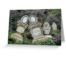 Boot Hill Cemetery Greeting Card