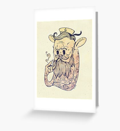 Hello Sailor!! Greeting Card