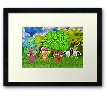 Aren't You Glad We Moved to the Countryside? Framed Print
