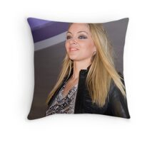 On the Catwalk Throw Pillow