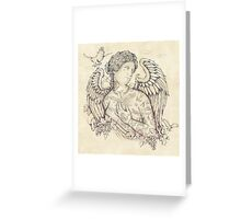 Lost in Heaven Greeting Card