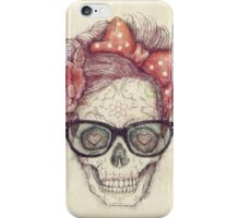 Hipster Girl is Dead iPhone Case/Skin