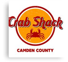 Crab Shack: Camden County Canvas Print