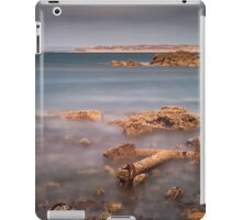 Barnacle covered anchor Rhossili bay iPad Case/Skin