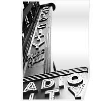 Radio City Music Hall, New York City Poster