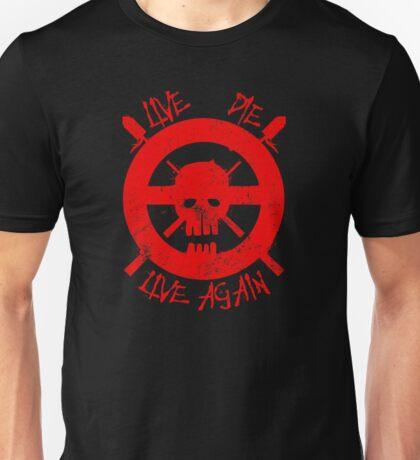 I live again (red) Unisex T-Shirt