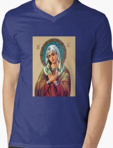 The Prayer Mens V-Neck T-Shirt