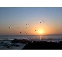 Coastal Sunset Photographic Print