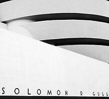 The Guggenheim Museum, New York City by Jeff Blanchard