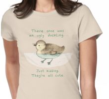 Ugly Duckling Womens Fitted T-Shirt