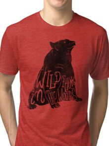 Wild Thing in the Woods Tri-blend T-Shirt