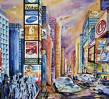 Times Square by Joy Skinner