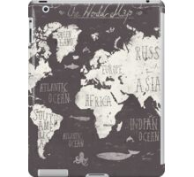 The World Map iPad Case/Skin