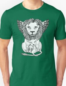 Lion and Lamb Tee Unisex T-Shirt