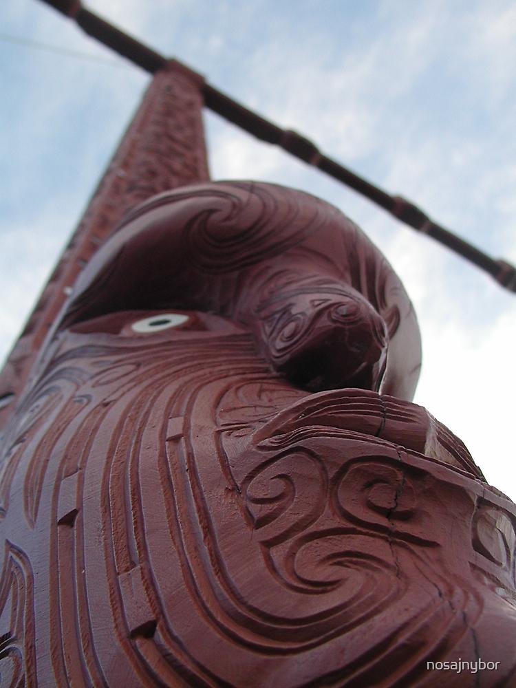 Maori Totem Pole by nosajnybor