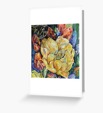Desert Glamour Greeting Card