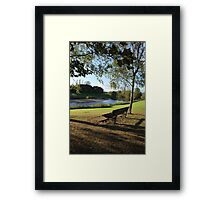River Tees View Framed Print