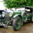 Racing Bentley by oulgundog