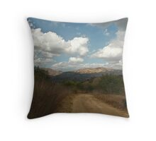 """ Happy Trails "" Throw Pillow"