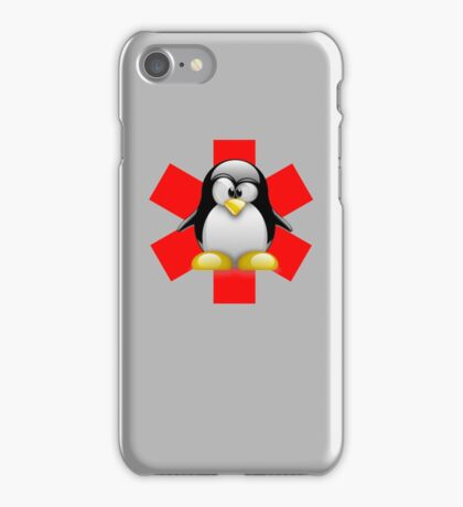 LINUX TUX PENGUIN HOSPITAL iPhone Case/Skin