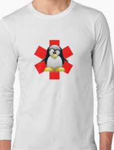 LINUX TUX PENGUIN HOSPITAL Long Sleeve T-Shirt