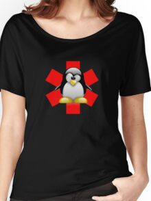 LINUX TUX PENGUIN HOSPITAL Women's Relaxed Fit T-Shirt