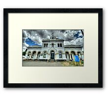 Municipal Memories - Clunes,Victoria - The HDR Experience Framed Print