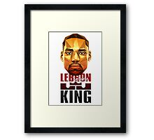 Lebron James - 3 Framed Print