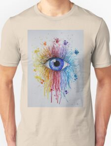 Rainbow Eye Unisex T-Shirt