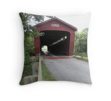Parker Covered Bridge Throw Pillow