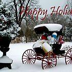 happy holidays by Brock Hunter