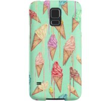 Melted ice creams Samsung Galaxy Case/Skin