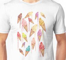 Melted ice creams Unisex T-Shirt