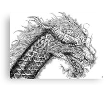 47 Ronin Dragon Canvas Print