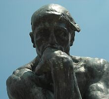 The Thinker II by Zeljka