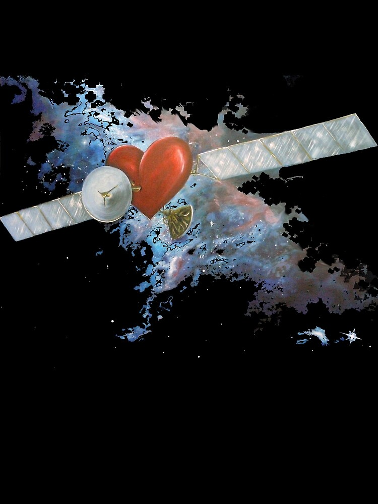 Satellite Heart V3 by Melanie Pople