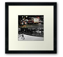 Like Night and Day - Crossing - 2009 Portfolio Project Framed Print
