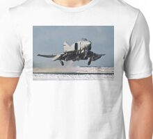 Phantom FGR.2 XV466/E taking-off at Stanley Unisex T-Shirt