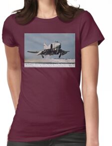 Phantom FGR.2 XV466/E taking-off at Stanley Womens Fitted T-Shirt