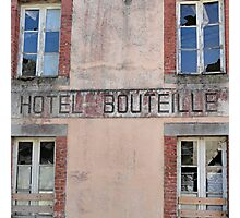 The Story of the Bottle Hotel Photographic Print