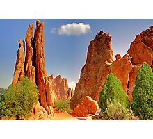 Garden of the Gods / God's Applause Photographic Print