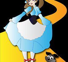 Twisted - Wizard of Oz by Lauren Eldridge-Murray