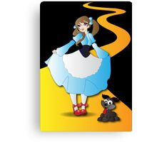 Twisted - Wizard of Oz Canvas Print