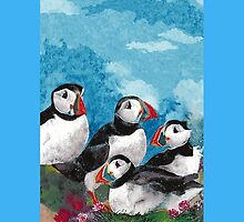 Puffins by ©The Creative  Minds