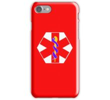 MEDICAL ID SYMBOL iPhone Case/Skin