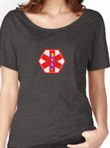 MEDICAL ID SYMBOL Women's Relaxed Fit T-Shirt