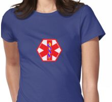 MEDICAL ID SYMBOL Womens Fitted T-Shirt